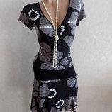 Платье с рисунком фирменное Hema размер 44-46