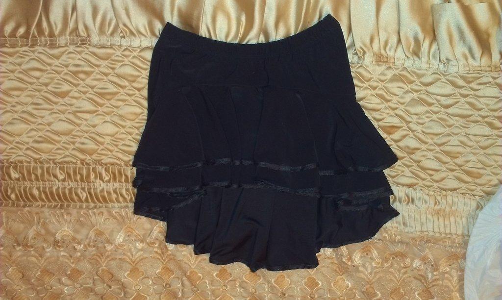 Бальная юбка черная