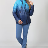 Демисезонная двухсторонняя куртка для беременных