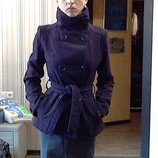 фиолетовое пальто р.36