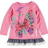 в наличии реглан для девочки LC Waikiki розового цвета с надписью Follow you dreams