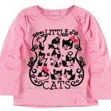 в наличии реглан для девочки LC Waikiki розового цвета с котиками на груди