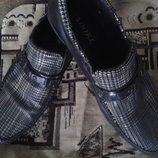 Туфли под крокодилью кожу, 40 размер, на подростка