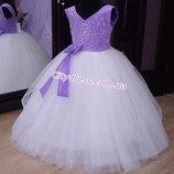 нарядное детское платье арт.5208 - Люкс