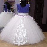 нарядное детское платье арт.5207 - Люкс