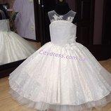 нарядное детское платье арт.5210