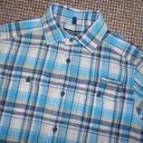 463. Рубашка Next на мальчика с коротким рукавом на 12 - 13 лет