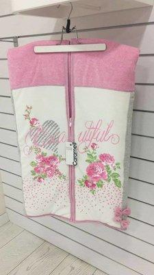 Одеяло-Конверт для девочки на выписку