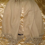 шаль палантин платок Tashia London оригинал кашемир шелк 48Х175 Louis Vuitton Burberry Gucci косынка