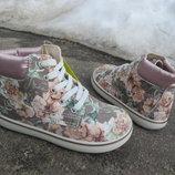Новые стильные демисезонные ботинки Primigi Rooky. Оригинал. разм.21, 25