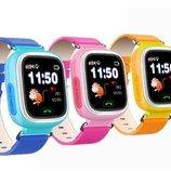 Детские Умные Сенсорные Часы Q100 - улучшенная модель