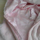 Жилетка нежно розовая