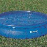 Bestway 58062 Тент с термо-еффектом ,для круглого бассейна 366 cм.