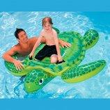 INTEX 56524 191Х170 См. Детский Надувной Плотик Черепаха