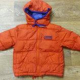 Теплая курточка на мальчика Rebel, р.104-110