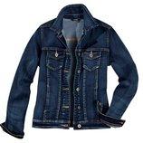 Модная джинсовая куртка, джинсовый пиджак Esmara германия стрейч. р. евро 36