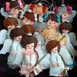 Ангелочек, игрушки из фетра