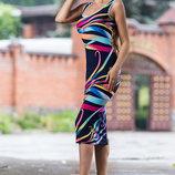 Платье-Футляр 635
