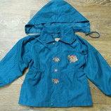 Удлиненная курточка-ветровка для девочки Esprit, р.116-122