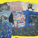 Пакет брендовых вещей на мальчика 7-8 лет,рост 122-128 см,