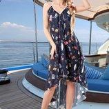 Легкое воздушное платье 646