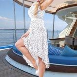Водушное летнее платье 653