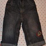 Теплые штаны на флисовой подкладке C&A рост 74 см