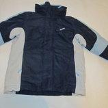 Куртка с подстежкой 2 в 1 6-7 лет мальчику