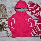 Фирменная термокуртка лыжная куртка размер 3 - 4 года 98 - 104 см Trespass Треспас