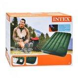 Односпальный матрас - кровать с насосом INTEX 66927 99Х191X22 См