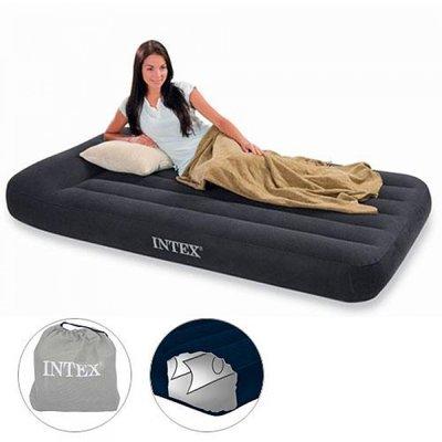 Кровать Односпальная с Подголовникам INTEX 66767 99Х191Х30 См. Кровать Односпальная