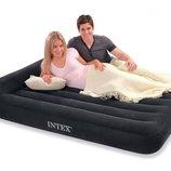 Полуторная надувная кровать с подголовником Intex 66768
