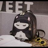 Милый городской рюкзак Katgirl, девочка В Наличии