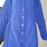 22р англ большой размер синяя куртка Peruna M&S