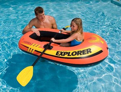 INTEX 58329 157Х102 См. Одноместная Детская Лодка EXPLORER 100