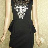 Платье черное размер с-м