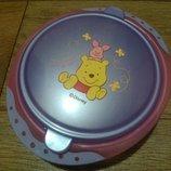 Пластиковая тарелка с крышкой Дисней