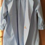 плащ Kleidung, голубой, немецкий, рост 128