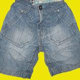 1600 вещей на 1-15 лет.Летние джинсовые шорты,рост 104 см,NEXT