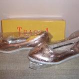 Изумительные Туфли-Балетки ROSE GOLD Турция