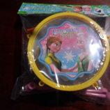 барабан с палочками для девочки в кульке укр.п 10 гр