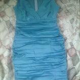 нарядное платье для любого праздника берюза