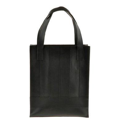 442f4411679a Сумка женская большая шоппер натуральная кожа черная ручная работа BN-BAG-10-g.  Previous Next