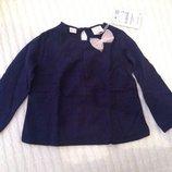 Нарядная блузка, кофта для девочки Zara, 2-3 года, 98