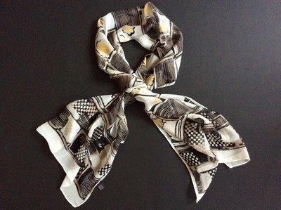 Шелковый шарф платок 160 45 Италия