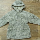 Теплая куртка Next, р.104-110