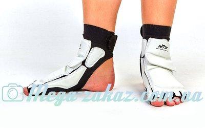 Защита стопы носки-футы для тхэквондо WTF 2601 S-XXL