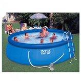 Надувной бассейн Intex Easy Set Pool 54916, 457х122 см насос, лестница, тент, подстилка