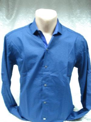 Рубашка Antoni Rossi синяя 561 M,-44размер