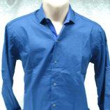 Рубашка Antoni Rossi синяя 561 M,3XL